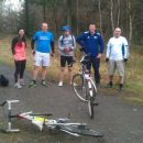 The Wyre Forest loop (42 miles) half way!